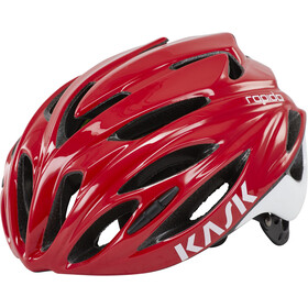 Kask Rapido Casco, red